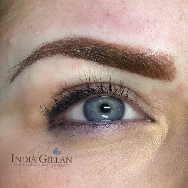 ombré brows india gillan hoo rochester