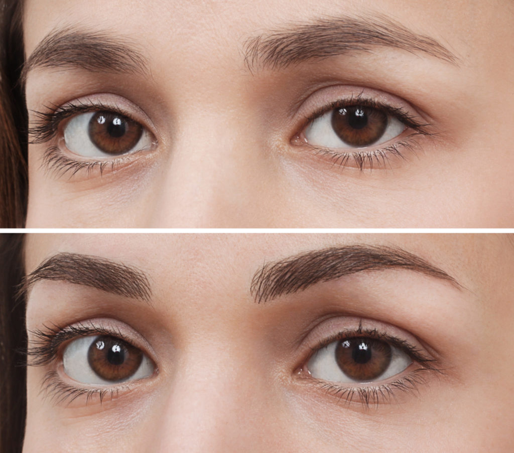 Ombre Eyebrows rochester - Microblading India Gillan